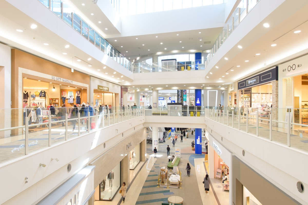 ショッピングセンターの感染症対策